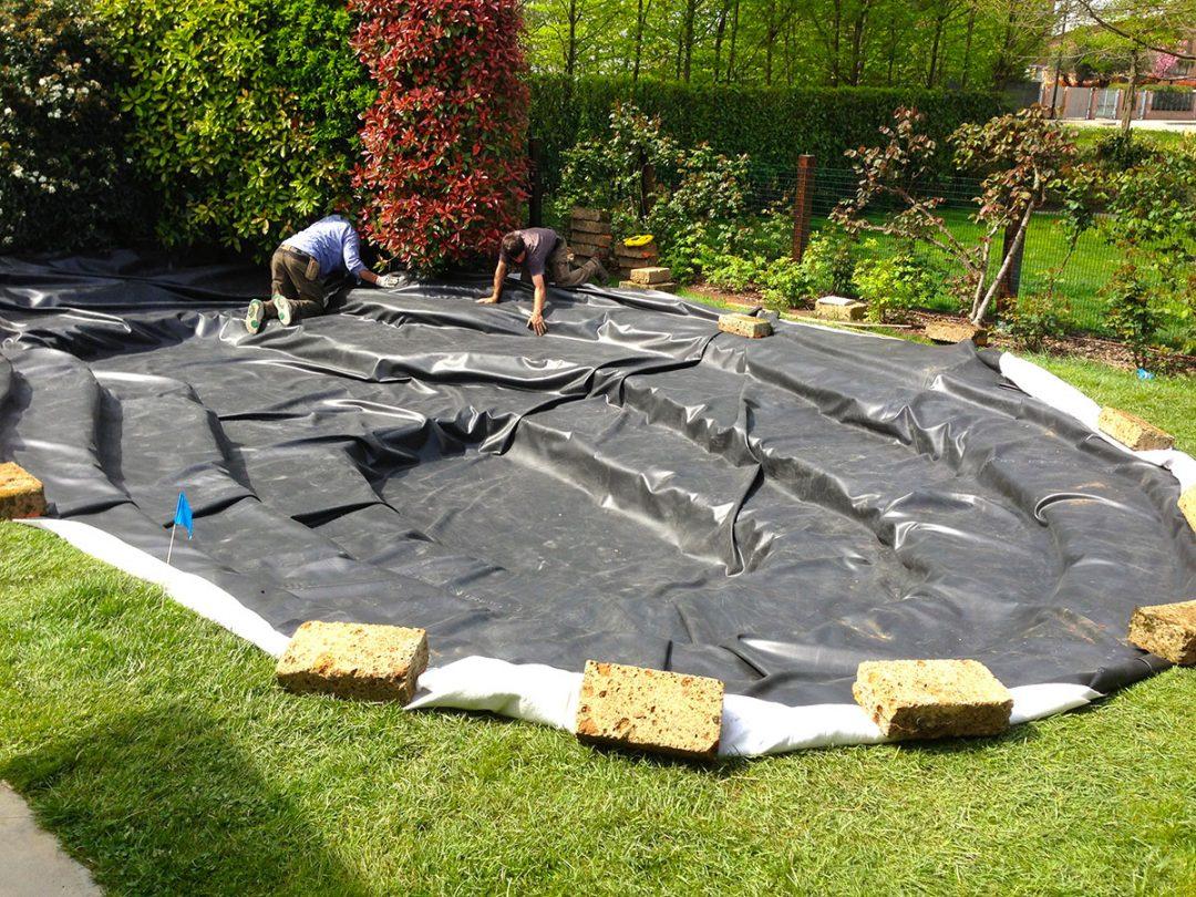 Laghetti arte del giardino vendita piante acquatiche for Laghetti artificiali per giardino