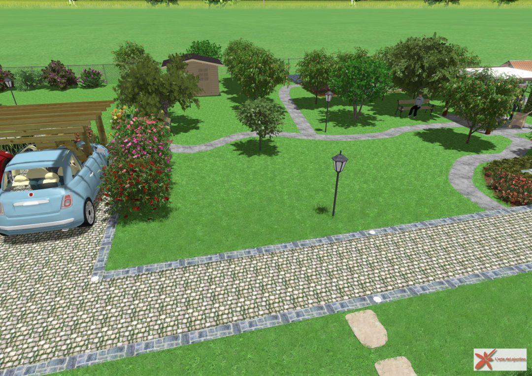 Concept paesaggistico arte del giardino coerenza del - Arte e giardino ...