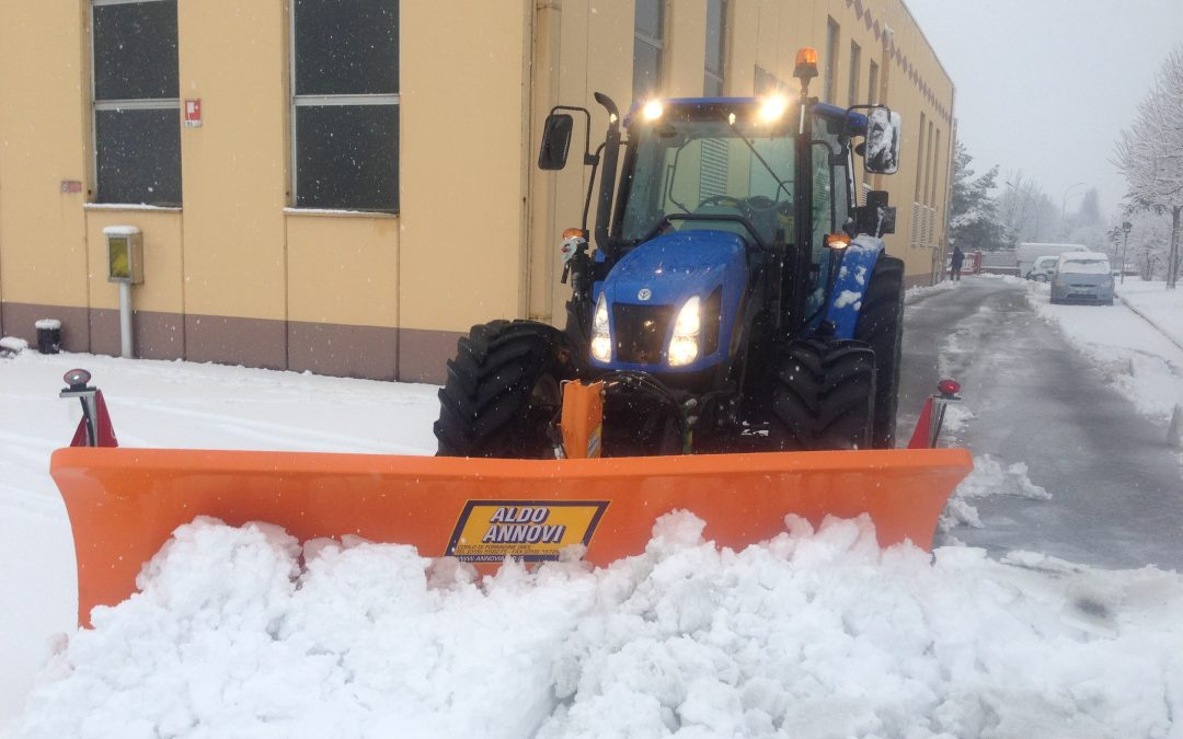 E' arrivata la neve, noi siamo pronti e tu?